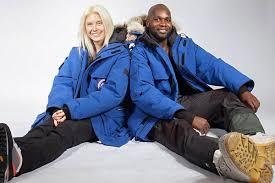 grough — Adventurers Dwayne Fields and Phoebe Smith start 'Antarctic trek'  down Britain