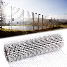 Fencing Business Industry Science Welded Wire Mesh 1 2m X 15m Green Pvc Coated Steel Fencing 25mm Holes 15 Gauge Garden Fence