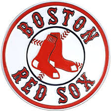 Amazon Com Red Sox Premium Solid Metal Color Raised Auto Emblem Decal Baseball Sports Outdoors