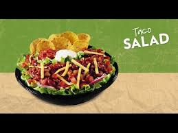 wendy s taco salad review you