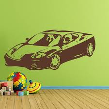 Sports Car Wall Decal Style And Apply
