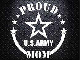 Army Car Decal 6 5 Inch Decal Proud Mom Proud Dad Proud Aunt Proud Uncle Proud Wife Proud Girlfriend Car Decals Cup Decal Tumbler Decal