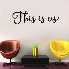 Amazon Com This Is Us Vinyl Wall Decal This Is Us Wall Decor Sticker Family Room Decal Photo Decal Gallery Wall Decal Children S Decal Sticker Arts Crafts Sewing