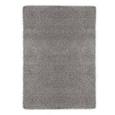 ottomanson contemporary solid gray 7 ft