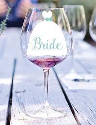 Dress Vinyl Decal Bridesmaid Decal Bridesmaid Glass Decal Etsy