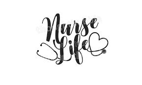 Nurse Life Vinyl Decal Vinyl Nursing Phrase Stencil Nurse Etsy Nurse Life Decal Nurses Week Quotes Phrase Stencil