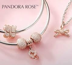 pandora rose gold necklace the