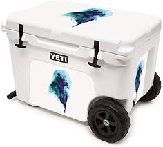 Amazon Com Mightyskins Cooler Not Included Skin Compatible With Yeti Tundra Haul Cooler Spirit Bear Protective Durable And Unique Vinyl Decal Wrap Cover Easy To Apply Made In The Usa
