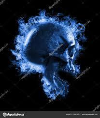 skull burned fire isolated wallpaper
