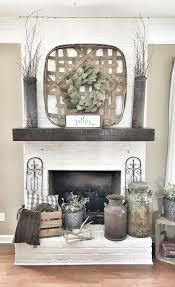 brick fireplace basket