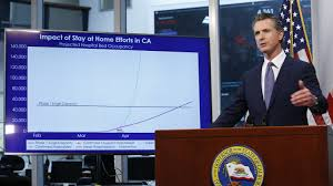 Column: Gavin Newsom has shined so far ...