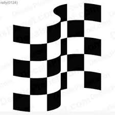 Racing Flag Decal Vinyl Decal Sticker Wall Decal Decals Ground