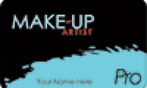 make up artist pro card now in blue