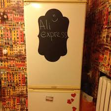 Fridge Sticker Wholesale Vinyl Wall Decals Chalkboard Sticker Chalk Board Wall Stickers Kitchen Home Decor With Free Shipping Chalkboard Stickers Wall Stickerfridge Sticker Aliexpress