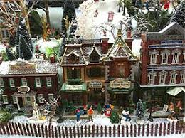 Making And How To Make Model Pathways And Miniature Fences Christmas Village Displays