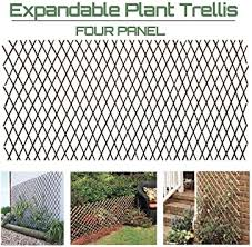 Amazon Com Artificial Leaf Faux Ivy Expandable Stretchable Privacy Fence Screen Single Sided Leaves 4 Furniture Decor