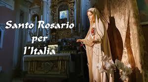 Santo Rosario per l'Italia - 22 maggio 2020 - YouTube