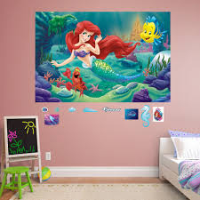 Mermaid Tail Wall Decal Little Walmart Amazon Design For Girl Home Removable Vamosrayos