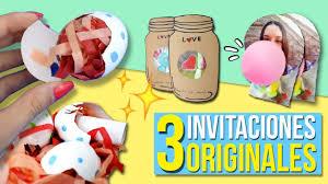 3 Invitaciones Super Originales Para Tu Fiesta Tarjetas De