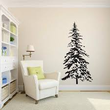 Loon Peak Dianella Pine Tree Wall Decal Wayfair