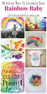 special ways to celebrate your rainbow baby lattes lilacs