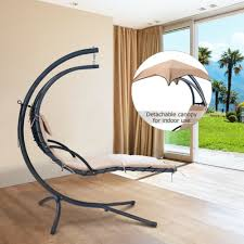 furniture garden hanging chaise lounge