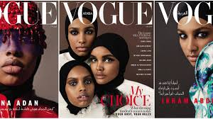 Vogue Arabia Demystifies Muslim Modesty with Its All Hijabi April Covers