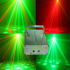 patterns red green laser projector