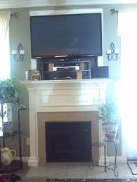 mounting flat screen tv over fireplace