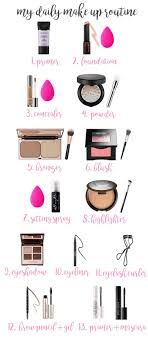 my daily make up routine a sephora