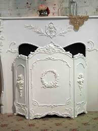 painted cottage chic shabby white