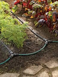 soaker hose irrigation system for