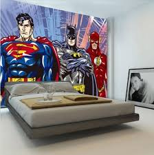 Flash Cartoon Wallpaper Superhero Wall Superhero Boys Room Superman Room