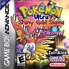 Pokemon Ultra Shiny Gold Sigma and Shiny Gold Sigma Cheats