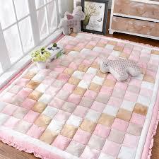 Korean Thick Carpet Kids Room Soft Pp Cotton Bedroom Rug Children Crawling Tatami Floor Mat Living Room Carpets Cloakroom Rugs Carpet Aliexpress