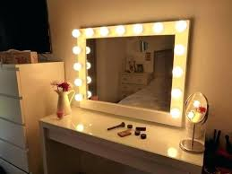 lit up vanity mirror light style