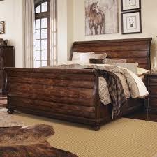 sleigh bed master bedroom