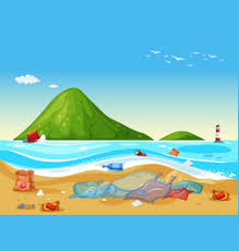 water pollution earth drawing vector