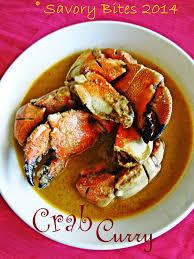 Crab Curry - Savory Bites Recipes - A ...