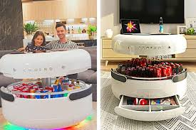 futuristic coffee table with smart