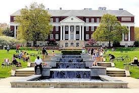 McKeldin Mall fountain | College park maryland, University of maryland,  College visit