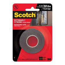 scotch 2 5cm x 1 5m extreme double