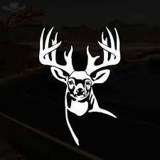 Whitetail Deer Decal Buck Hunting Truck Window Vinyl Sticker Pick Size Color Ebay