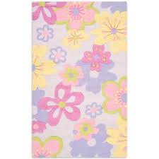Safavieh Kids Pastel Flowers Multicolor Rug Bed Bath Beyond