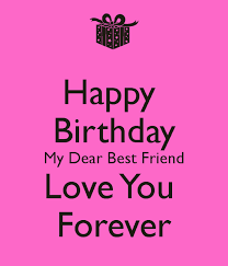 short and long birthday messages for best friend images