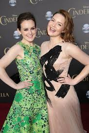 Cinderella - Sophie McShera and Holliday Grainger attend the World Premiere  of Disney's Cinderella in Hollywood. | Facebook