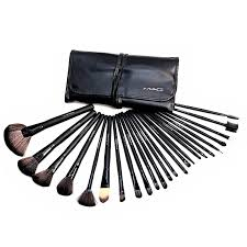 mac 24pcs makeup brush set cosmetic vibe