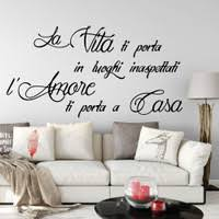 Italian Decorative Wall Decals Mangia Bene Ridi Spesso Ama Molto Eat Well Laugh Often Love Much Wall Art Sticker Wish