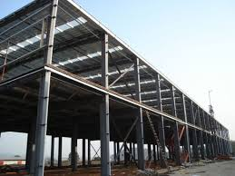 steel frame construction material metal