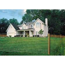 Welded Wire Fence 14 Ga Zinc Coated 2 X4 60 X100 57243g Rona